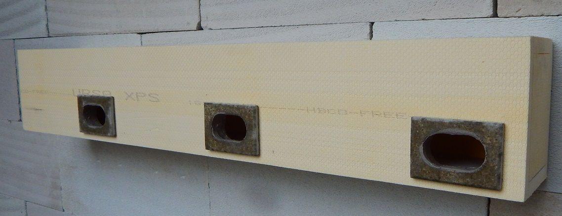 Budka do zateplení pro rorýse tříkomorová 3R 1130 x 190 x 150mm