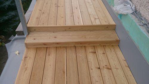Terasa dřevo na terče