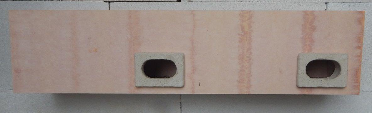 Nehořlavá budka do zateplení pro rorýse dvoukomorová 2FER 800 x 190 x 150