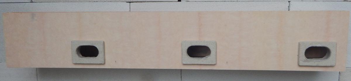 Nehořlavá budka do zateplení pro rorýse tříkomorová 3FER 1130 x 190 x 150