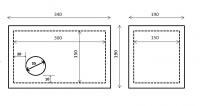 Zaatiková budka pro rorýse Z1R 190x190x340mm